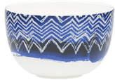David Jones Shibori Blue Cheveron Noodle Bowl