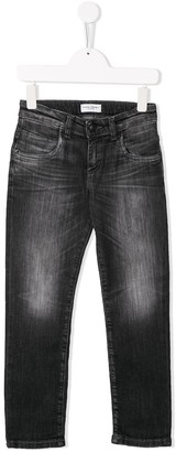 Paolo Pecora Kids Slim Fit Jeans