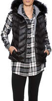 Dana Stein Raccoon Puffer Vest