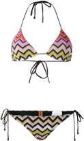 Missoni zigzag woven bikini set
