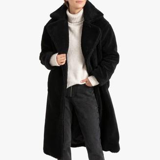 La Redoute Collections Long Teddy Faux Fur Coat
