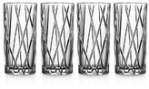 Orrefors City Highball Glass, Set of 4