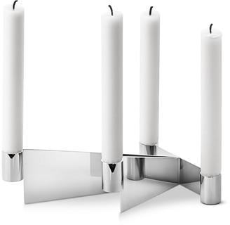 Georg Jensen Urkiola Stainless Steel Candleholder
