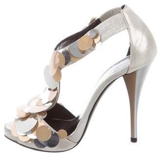 Pierre Hardy Embellished Platform Sandals