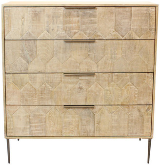 Moti Ren 4-Drawer Dresser