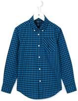 Ralph Lauren gingham button down shirt