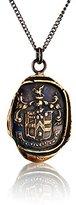 "Pyrrha Bronze Love Conquers All Talisman Necklace, 18"""