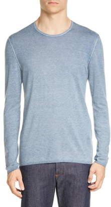 John Varvatos Silk & Cashmere Crewneck Sweater