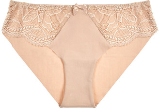Simone Perele Eden Cotton-blend Briefs