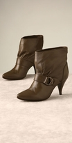 Pointed Buckle Bootie
