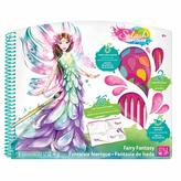 STYLE ME UP Splash Of Colour - Deluxe Sketchbook - Fairy Fantasy