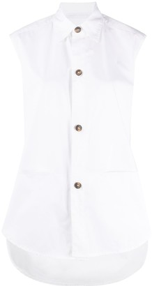 Societe Anonyme Sleeveless Tunic Shirt