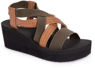 Muk Luks Womens Sabine Wedge Sandals