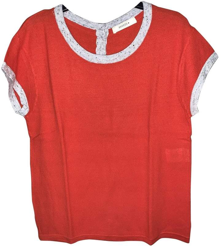Sessun \N Red Cotton Top for Women