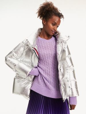 Tommy Hilfiger Metallic Puffer Jacket