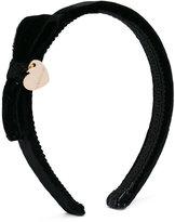 MonnaLisa heart charm headband