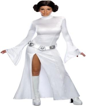 BuySeasons Women's Star Wars - Secret Wishes Princess Leia Costume
