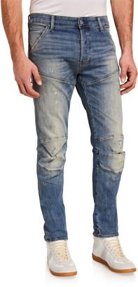 G Star Men's 5620 Distressed Skinny Jeans