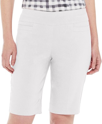 Croft & Barrow Women's Millennium Tummy-Control Bermuda Shorts