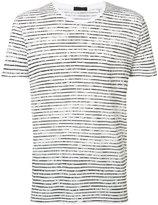 ATM Anthony Thomas Melillo striped T-shirt - men - Cotton - S