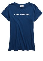 Wildfox Couture Girl's 7 Day Weekend Tee