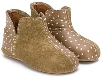 Pépé Star Print Ankle Boots