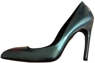 Roger Vivier Turquoise Patent leather Heels