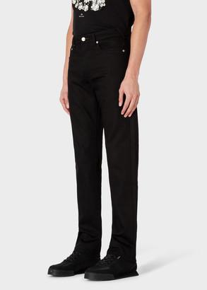 Paul Smith Men's Standard-Fit 'Black Stretch' Jeans
