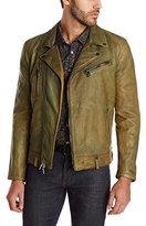 John Varvatos Collection Men's Lambskin Biker Jacket