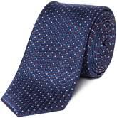 Kenneth Cole Standard Multi Pin Dot Silk Tie