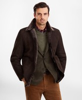Brooks Brothers Shearling Jacket