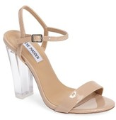 Steve Madden Women's Vallery Clear Heeled Sandal