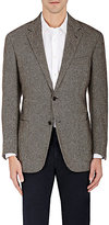 Luciano Barbera MEN'S CASHMERE-WOOL TWO-BUTTON SPORTCOAT