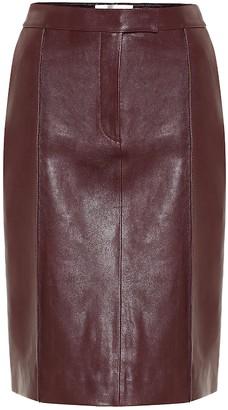 Victoria Victoria Beckham Leather pencil skirt