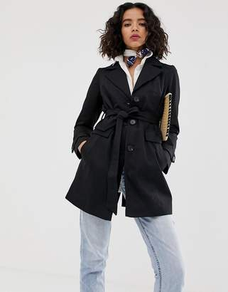 Vero Moda black trench coat
