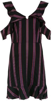 Olympiah striped Drina dress