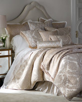 Isabella Collection Darby Leopard European Sham with Ruffle