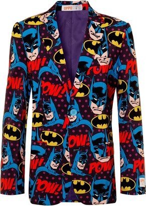 OppoSuits Batman(TM) The Dark Knight Two-Piece Suit with Tie