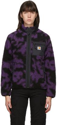 Carhartt Work In Progress Purple and Black Camo Prentis Jacket