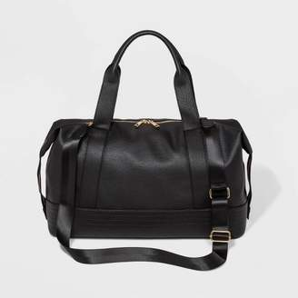 Wild Fable Zip Closure Weekender Bag - Wild FableTM Black