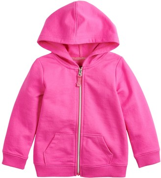 Baby Girl Jumping Beans French Terry Hoodie