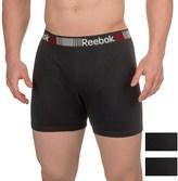 Reebok Cotton Boxer Briefs - 3-Pack (For Men)