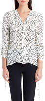 Jason Wu Dot-Print Crepe de Chine Blouse
