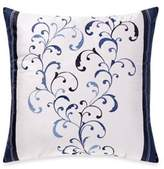 Manor Hill Lana Embroidered Square Throw Pillow