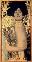 Gustav 1art1 Posters Klimt Poster Art Print - Judith I, 1901 (34 x 16 inches)