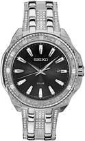 Seiko Men's Solar Dress Stainless Steel Bracelet Watch 45mm