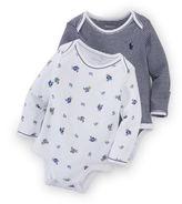 Ralph Lauren Boy Cotton Bodysuit 2-Pack