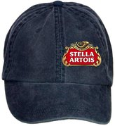 Classic ClShrt Unisex Washed Adjustable Stella Artois Beer Master Symbol Cotton Baseball Cap