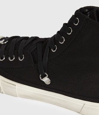 AllSaints Elena Stamp High Top Sneakers