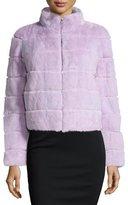 Gorski Mink Fur Zip Jacket, Lavender
